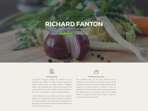 Chef Richard Fanton